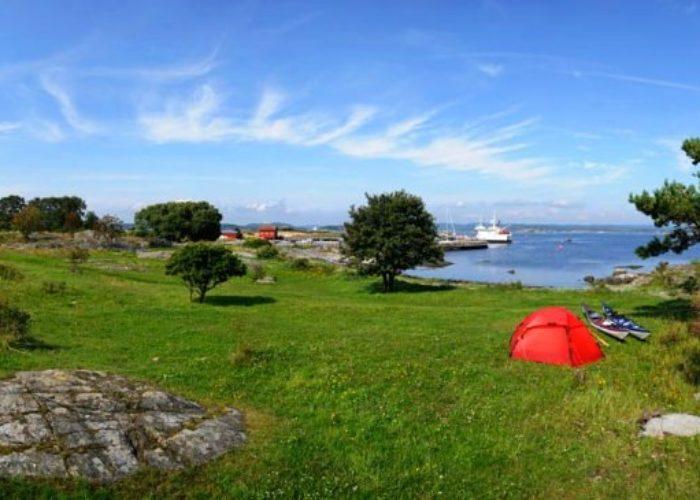 Lettere å telte i strandsonen Norsk Friluftsliv