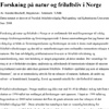 Forskning på natur og friluftsliv i Norge