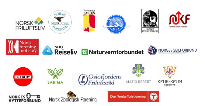 organisasjoner opprop logoer