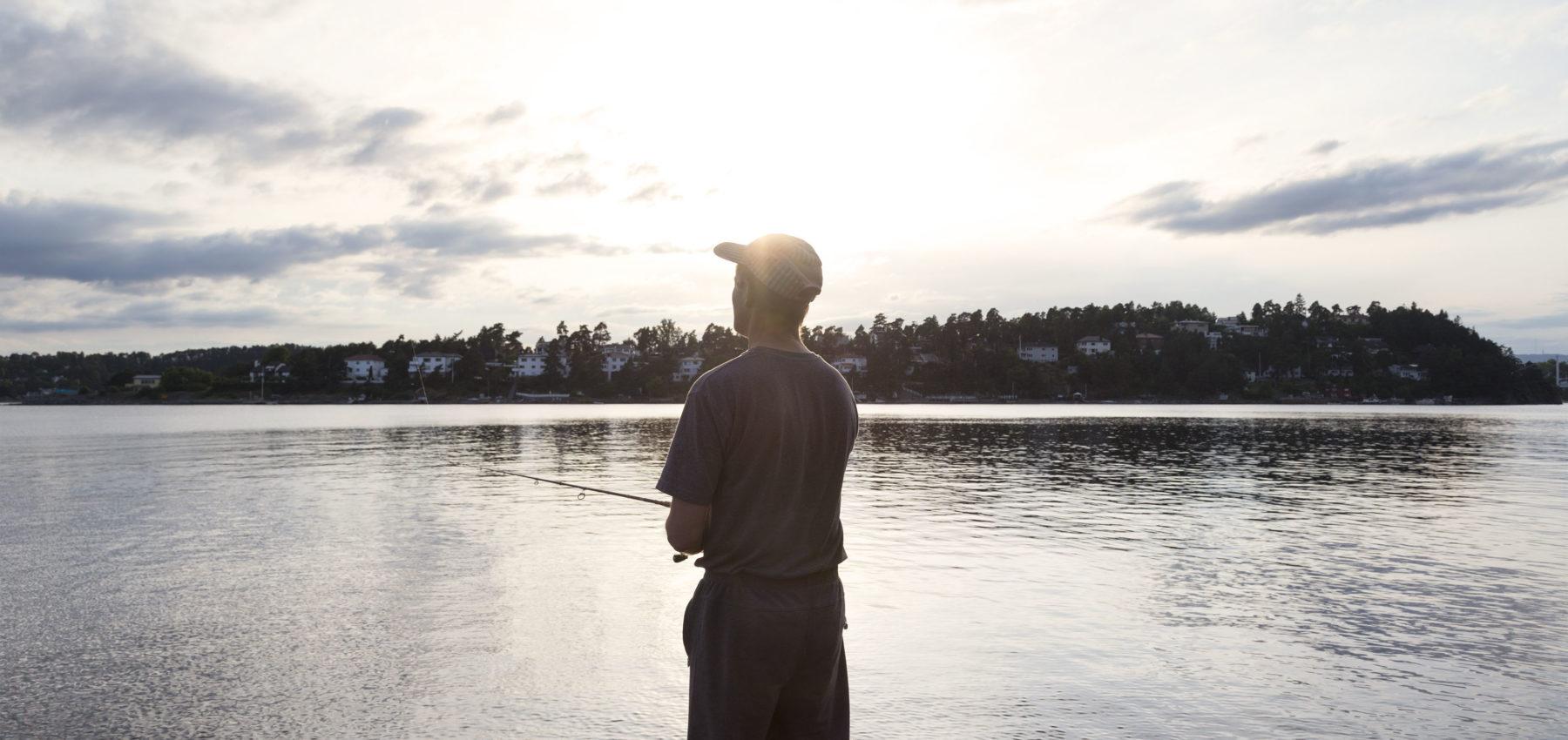 fisking med stang