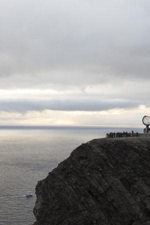 Oversikt over Nordkapp-platået.