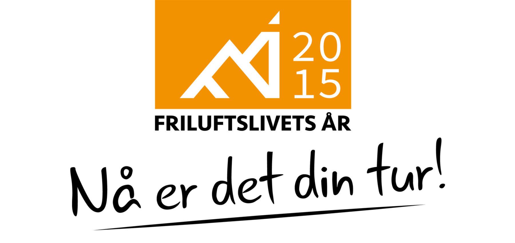 Friluftslivets år 2015-logo