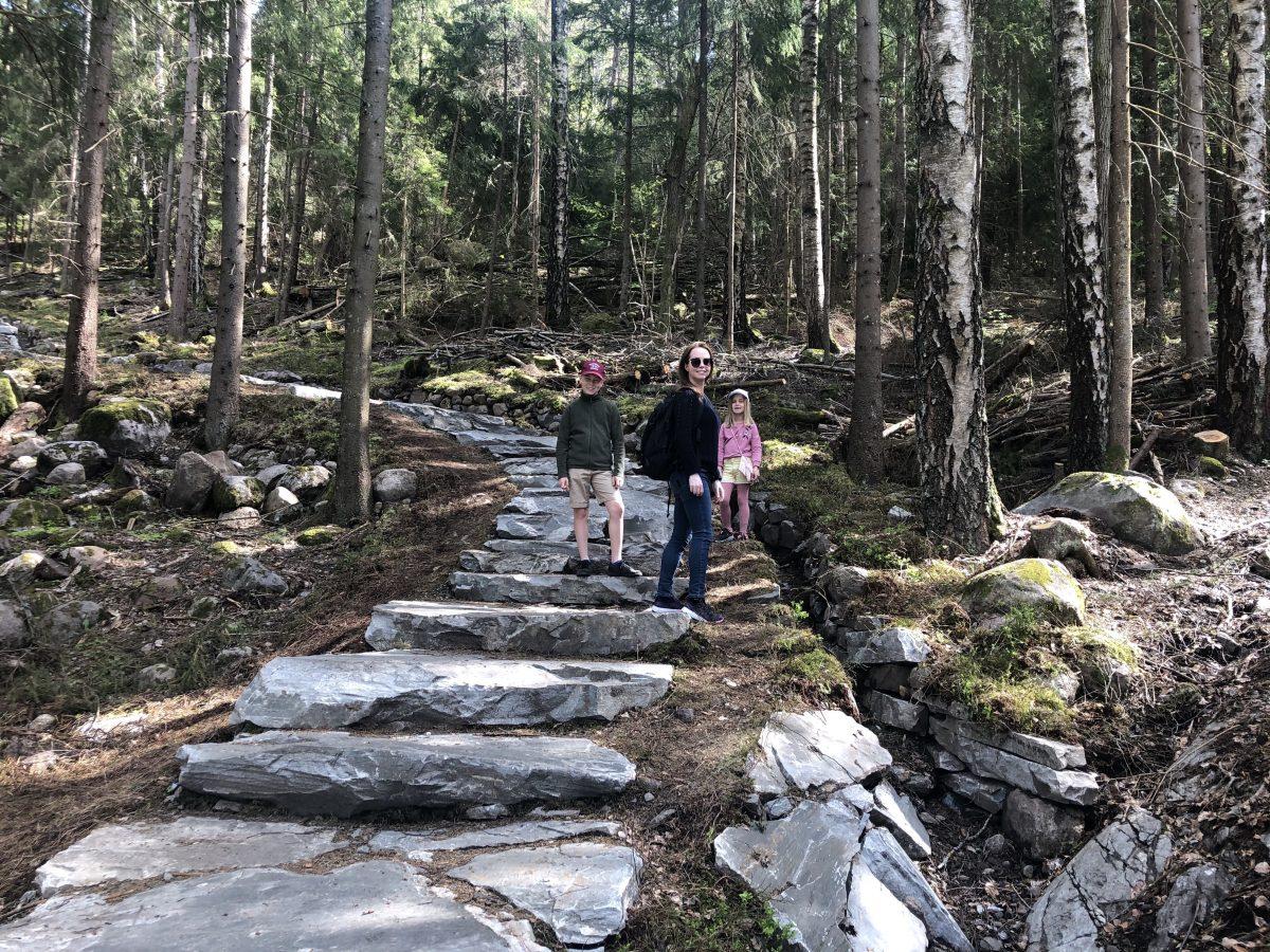 Sherpatrappetrinn i Svartskog
